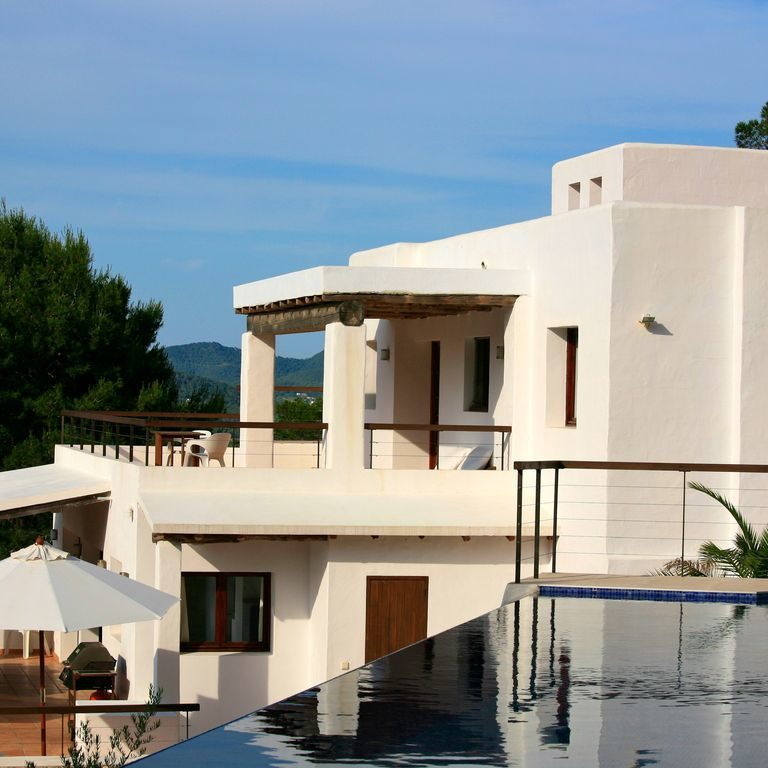 Villa photo - Casa Kiva: 6 bedroom child friendly luxury villa with infinity pool in Es Cubells, Ibiza
